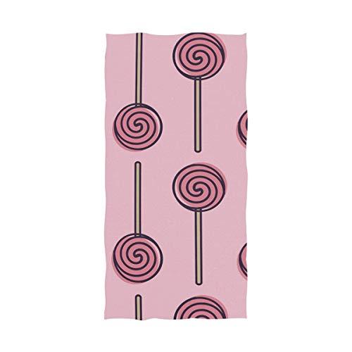 FANTAZIO Premium Baumwoll-Badetuch Lollipop extra saugfähig