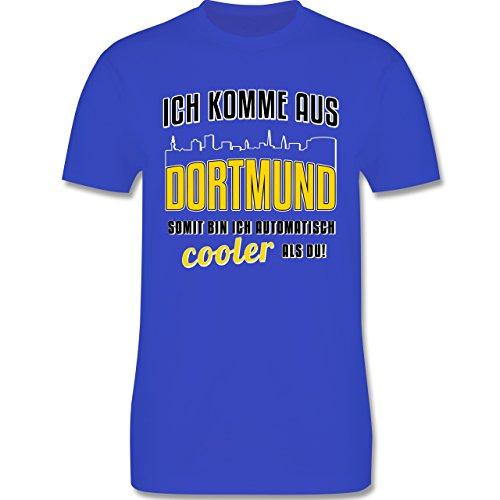 Städte - Ich komme aus Dortmund - Herren Premium T-Shirt Royalblau