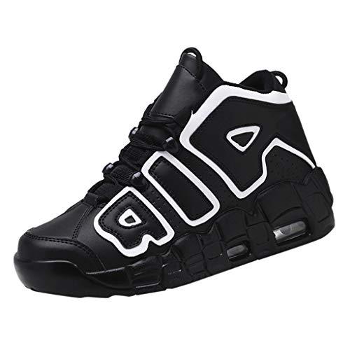 REALIKE Herren Walkschuhe Laufschuhe Fitness Sneaker Mode Sportschuhe Rutschfeste Atmungsaktiv Running Schuhe High Top Leichtgewichts Schnürschuhear Outdoor Shoes Hiking Schuhe