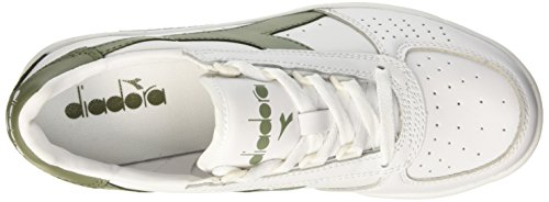Unisex elite erwachsene Olivina bianco Diadora Pumps Bianco B verde 7THw6qfw