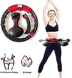 Swing around Intelligente Hula Hoop, Fitness Pneumatici Hula di Massaggio, Yoga Hula Hoop, Perdita di Peso Artefatto, Attrezzature Sportive Adatto per Adulti delle Famiglie