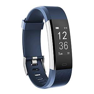 AUSUN Herzfrequenz-Monitor, moreFit Slim HR Plus Wasserdicht Pulsuhren Fitness Uhr Aktivitäts-Tracker Tragbares GPS Schrittzähler Smart Armband Kinder Damen Männer