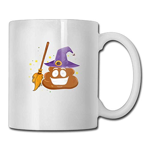 Halloween Poop 11oz Ceramic Coffee Mug Funny Birthday Christmas and Inspirational Gift