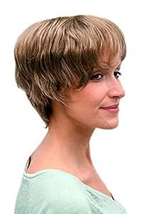 Perücke, braun, kurze Haare, reife Dame 11031-14