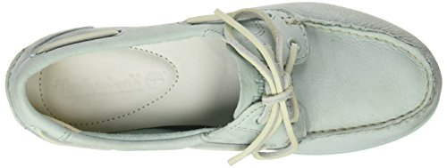 Timberland Damen Classic Boat Unlined Boatsilt Green Buttersoft Bootsschuhe Grün (Silt Green Buttersoft)