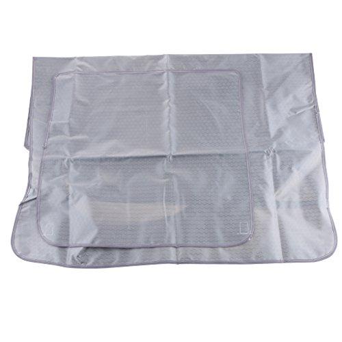 Baoblaze Klimaanlage Staubdichte Waschbare Abdeckung Schutzhülle Cover - #4 Dunkel Grau