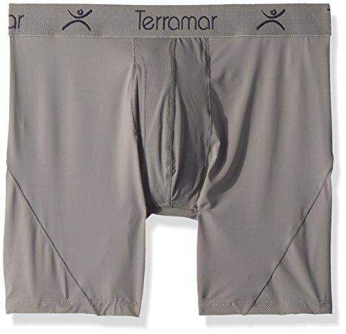 Terramar Microcool Mesh 15,2cm Boxer Slip Unterwäsche (1Stück) Storm