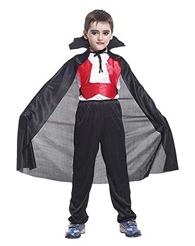 Dracula Costume - GIFT TOWER Halloween Déguisement Vampire Comte Dracula