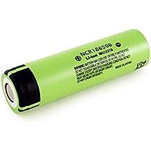 Panasonic NCR18650B 6.7A 3400mAh 18650 batería (1 pila - caso VIPERTECH incluido)