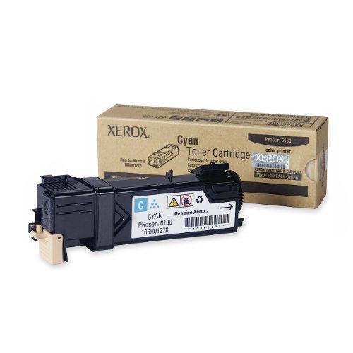 Xerox 106R01278 Phaser 6130 Toner Drumkartusche 1.900 Seiten, cyan - Phaser 6130 Toner Cyan