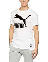 Puma – Archive Logo Tee – Camiseta, hombre, Archive Logo Tee, puma white, XXL