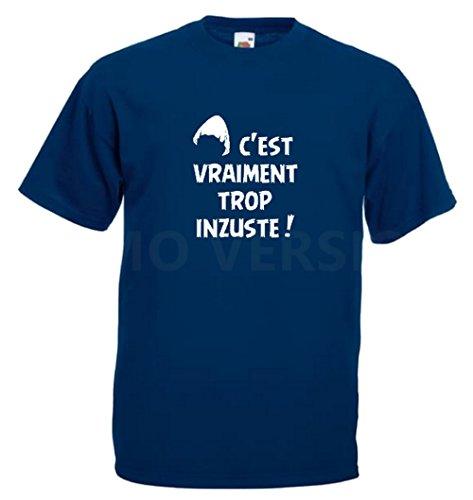 Steefshirts Herren T-Shirt schwarz schwarz Small Marineblau