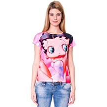 MADNESS Camiseta Manga Corta Betty Boop Multicolor S