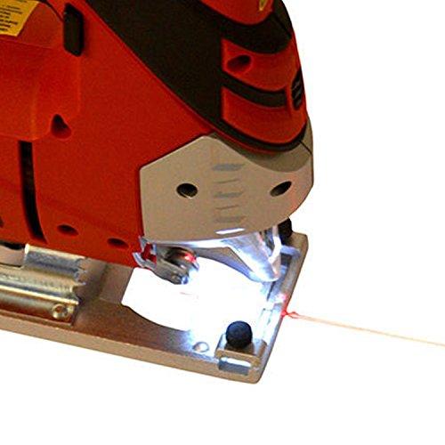 Hecht 1569 Profi-Stichsäge 810 Watt, mit Beleuchtung und Laser - 7