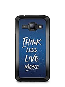 YuBingo Think Less. Live More Designer Mobile Case Back Cover for Samsung Galaxy J1