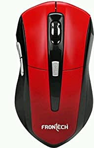 Frontech JIL-3762 Wireless Mouse(RED)