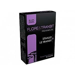 Preventlife Flore et transit stimule le transit 40 comprimés