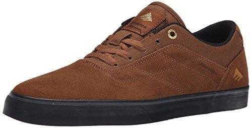 Emerica The Herman G6 Vulc, Skateboard homme Marron (Brown/Black/201)