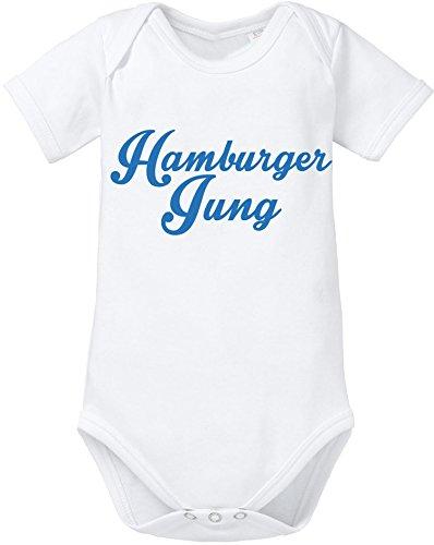 EZYshirt® Hamburger Jung Baby Body Shortsleeve