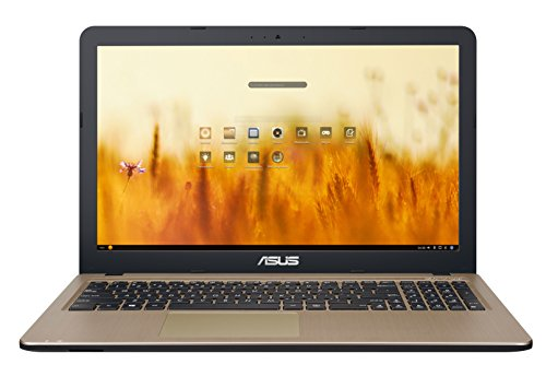 ASUS VivoBook D540NA-GQ059 - Ordenador portátil de 15.6' HD (Intel Celeron N3350, 4 GB RAM, 500 GB HDD, Endless OS) Chocolate Negro - Teclado QWERTY Español
