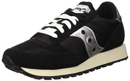 Saucony Jazz Original Vintage, Sneaker Unisex – Adulto, Nero (Black/White 10), 42 EU