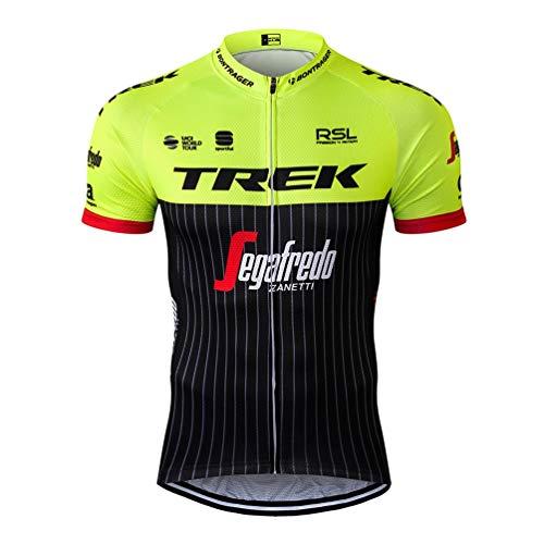 Sports Thriller Rider MTB Radtrikot Kurzarm für Herren Mountain Bike Fahrradtrikot Fahrradbekleidung T-Shirt X-Large