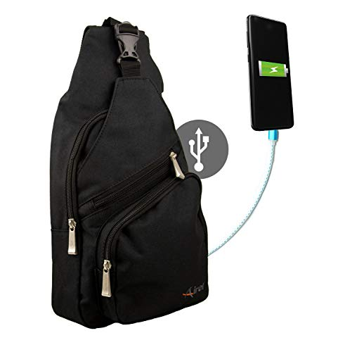 Airel Bandolera Inteligente | Bandolera USB | Bolso