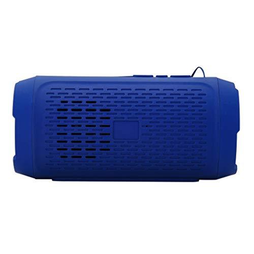 OPAKY Tragbarer drahtloser Bluetooth-Stereo-SD-Karte FM-Lautsprecher für iPhone, Samsung usw.