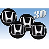 pegatinas rueda del emblema de Honda de todos los tamaños (53mm.)