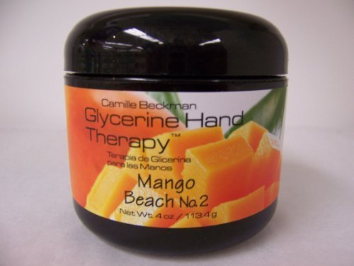 Camille Beckman Glycerin (Camille Beckman Glycerine Hand Therapy Cream 4 oz - Mango Beach No. 2 Scent by Camille Beckman)
