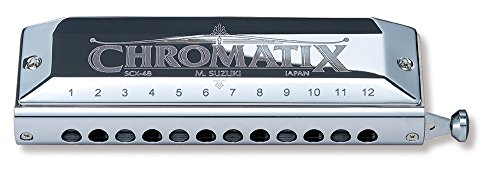 suzuki-scx-48-chromatix-series-harmonica-c-12-hole-japan-import