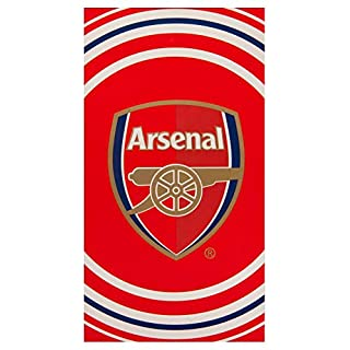 Club Licensed Arsenal Pulse Towel - 70 x 140cm Approx