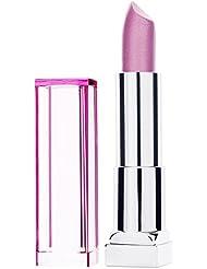 Maybelline New York Make-Up Lippenstift Color Sensational The Shine Lipstick Rose Diamonds / Glänzendes Rosa mit pflegender Wirkung, 1 x 5 g