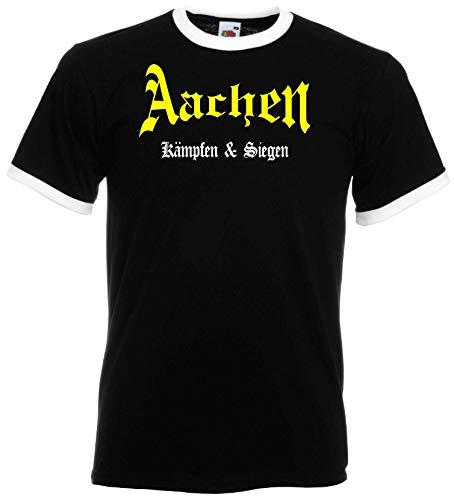 Aachen Ultras Kämpfen & Siegen T-Shirt Retro