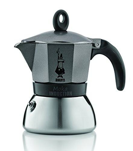 Bialetti Moka Induction - Negro