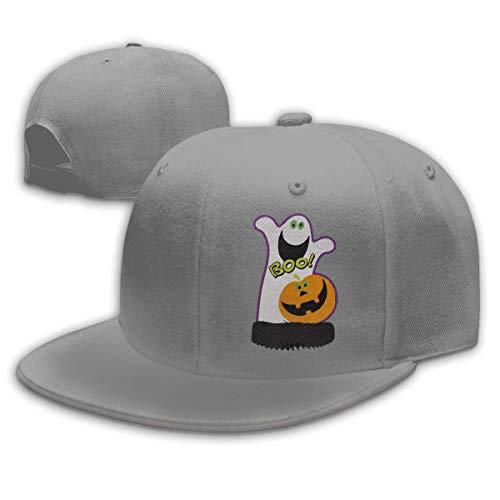 DAIAII Herren Baseball Caps,Hüte, Mützen, Classic Baseball Cap, Pumpkin Boo Halloween Men & Women Adjustable Plain Baseball Cap Dad Hat