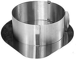 Amel Home Yuvarlak Kek Kalıbı ve Altlık (Yuvarlak=Kapalı:16 Açık:30 Yükseklik:10, Altlık=30x30) Model No: KEK-SET-02-01