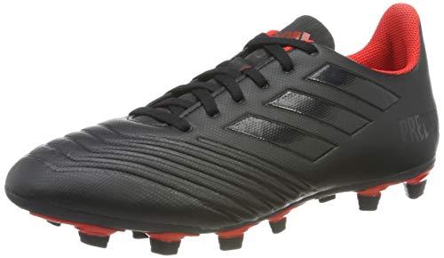 adidas Predator 19.4 FxG, Herren Fußballschuhe, Schwarz (Core Black/Active Red), 43.5 EU
