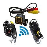BEESCLOVER - Telecamera Posteriore Senza Fili per Auto, CCD, Impermeabile, Visione Notturna, per Kia, Opel, Nissan