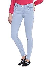 Broadstar Women Denim Light Blue Jeans