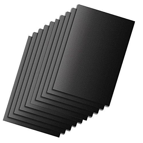 HAC24 10 Stück Dauerbackpapier Backpapier 40x33cm Backtrennfolie Dauerbackfolie