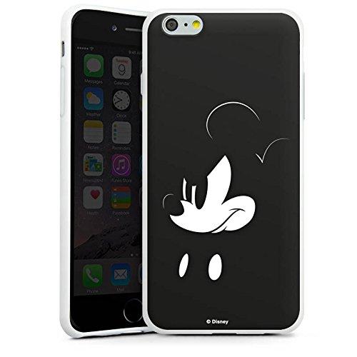 Apple iPhone SE Hülle Case Handyhülle Disney Mickey Mouse Fanartikel Geschenke Silikon Case weiß