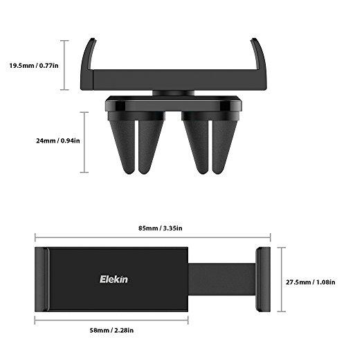 Zoom IMG-3 elekin supporto auto smartphone 360