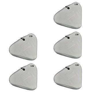 5 Ersatztücher Mikrofaser - Bodentücher von Aqua Laser ® Premium Dampfreiniger Dampfbesen Bodendampfreinigungsgerät mit Duftchiptasche