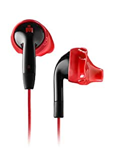 Yurbuds Ironman Inspire Duro Performance Fit Sport Earphones with Cloth Cords Red/Black - 10100