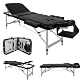 Massage Table Couch Bed Aluminium Deluxe Lightweight Professional Beauty Tattoo Spa Reiki Portable