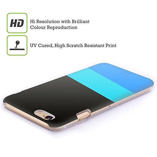 Head Case Designs Scollo A V Mattoncini Colorati Cover Retro Rigida per Apple iPhone 7 Plus / 8 Plus Abbigliamento Formale