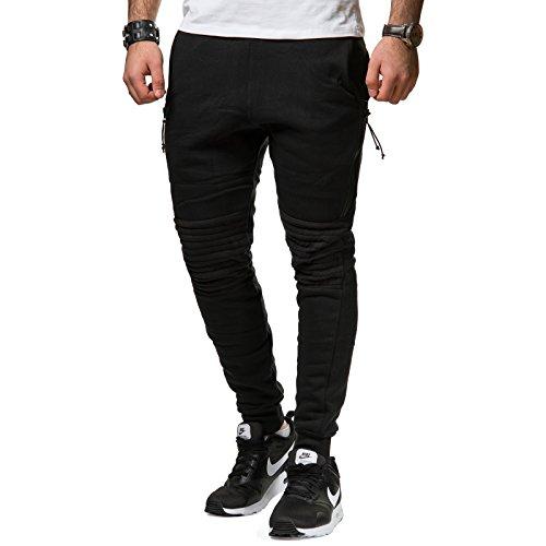 john-h-herren-jogginghose-sweatpants-kunstleder-patches-schwarz-rot-p7335-grossem-farbeschwarz