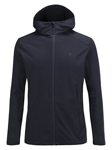 Peak Performance Ace Zip Hood Salute Blue - L