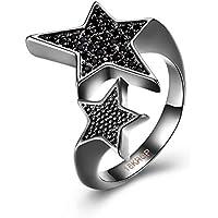 """Star David declaración dedo anillo """"Promesa Love disfraz de"""" fiesta de Navidad Joyería Novia Set"""